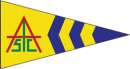 Amelia Island Sailing Club Burgee